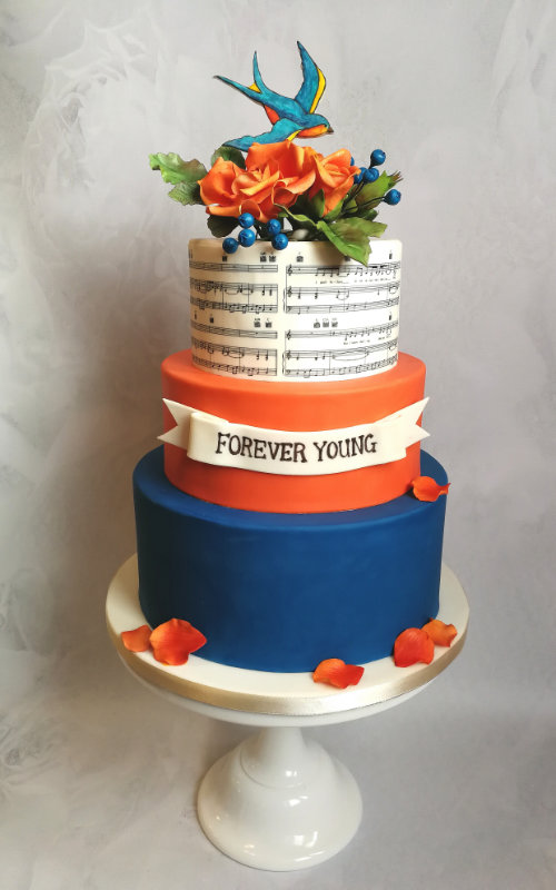 Wedding Cake by Sylvia