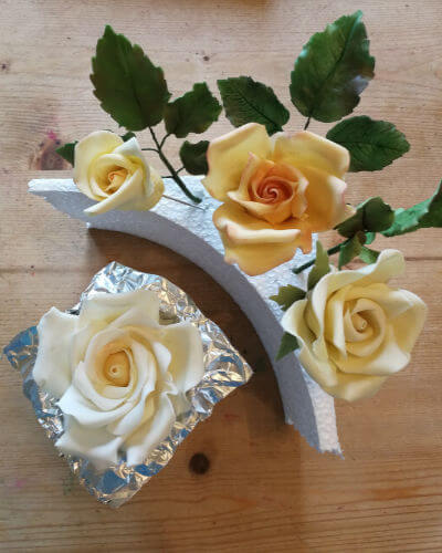 Sugar Crafted Flower Classes